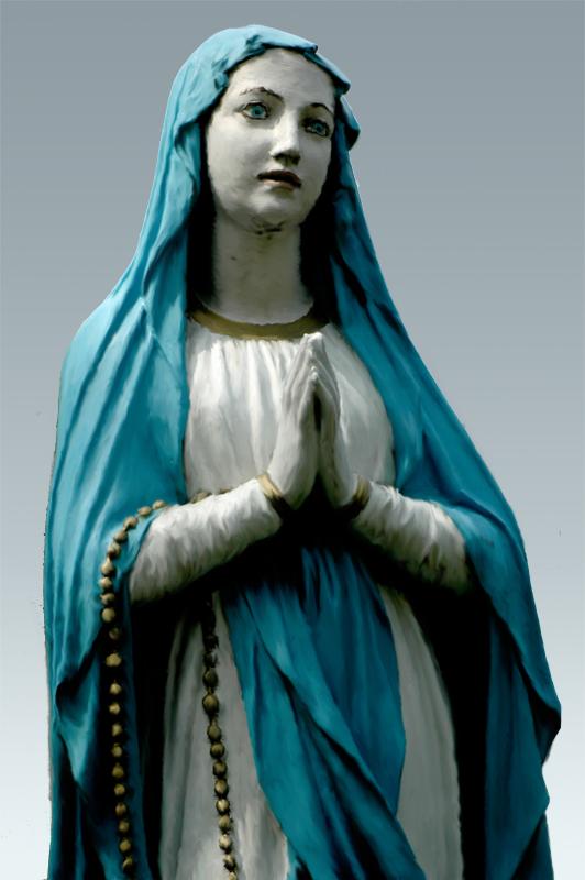 Statue zone 640 x 480 for Statue vierge marie pour exterieur