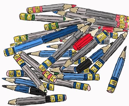 les bouts de crayons