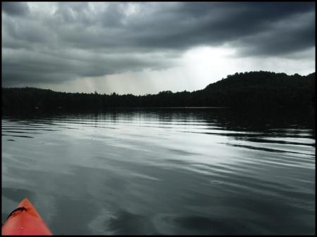 Lac Lambert, 25 juillet 2011, 19h30
