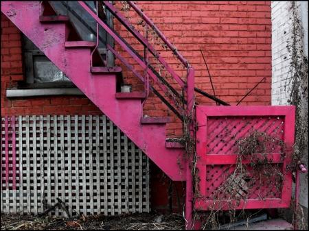 Escaliers de Montréal