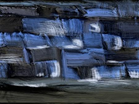 couleurs: bleu et noir