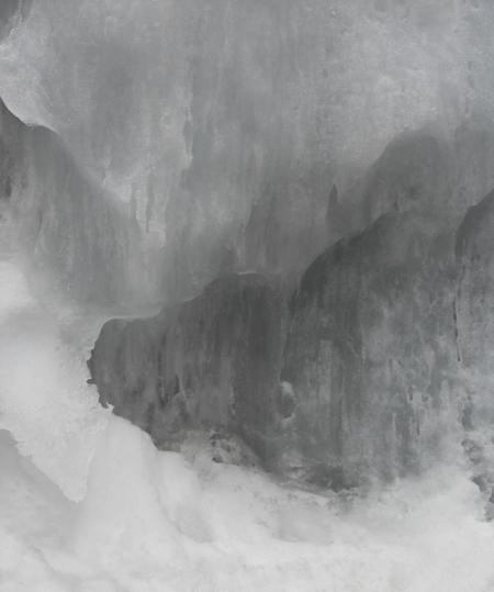Glaces de la montagne