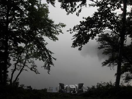 la levée du jour par brume