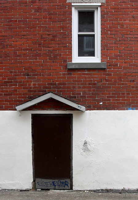 ruelle Rosemont, porte et fenêtre