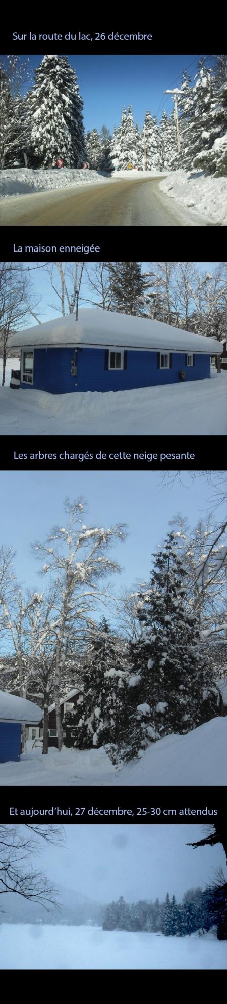 Décembre et ses neiges