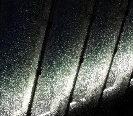 Verrière sous la pluie no. 2
