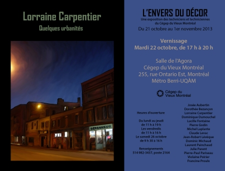 Vernissage Octobre 2013
